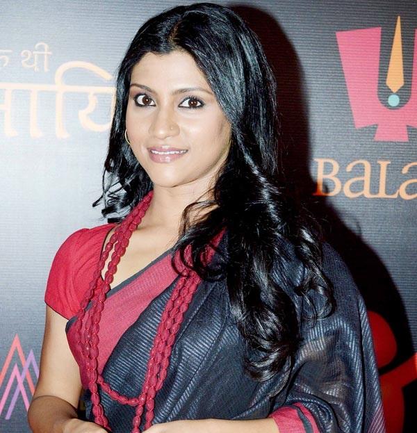 Konkona Sen Sharma New Hair Style Photos