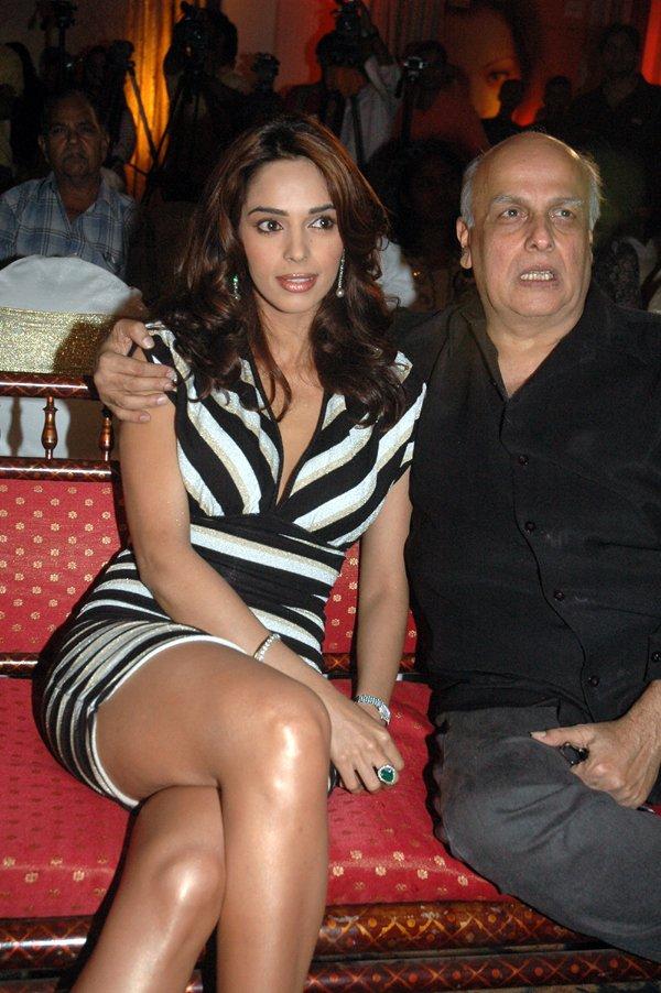 Mallika Sherawat Photos With Mahesh Bhatt