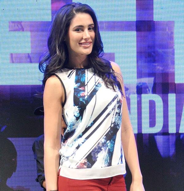 Nargis Fakhri Images In Jeans Top
