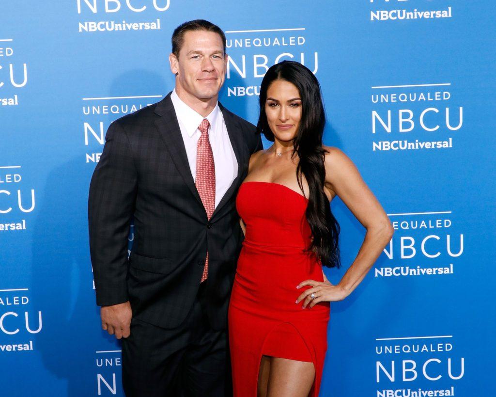 Nikki Bella Unseen Pics With John Cena
