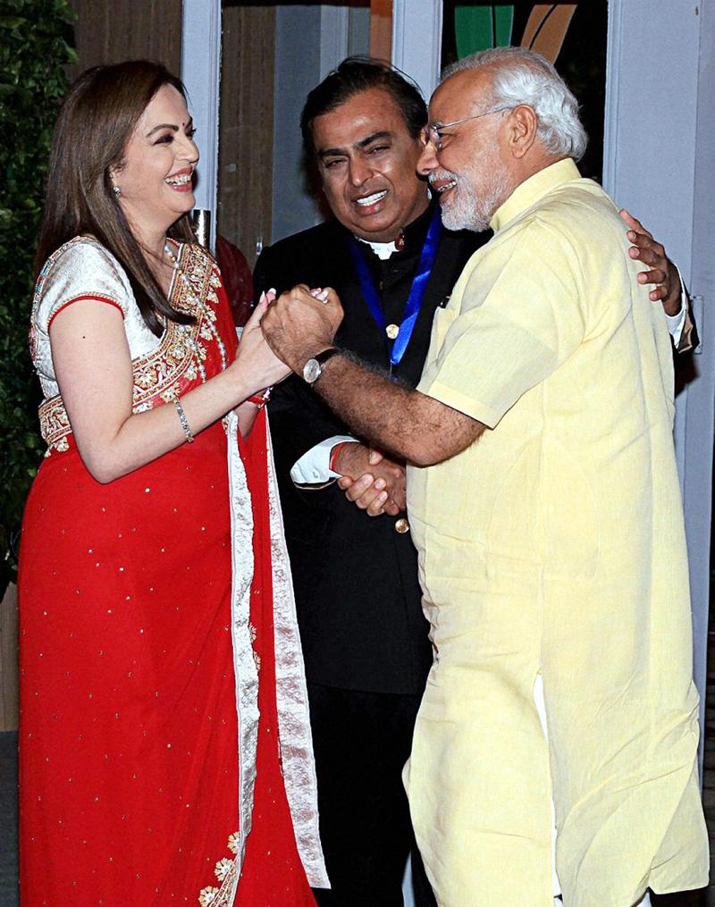 Nita Ambani Photos With Narendra Modi