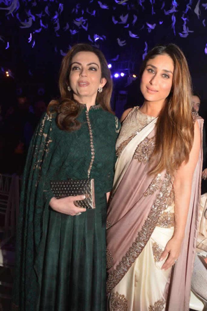 Nita Ambani Pictures With Kareena Kapoor