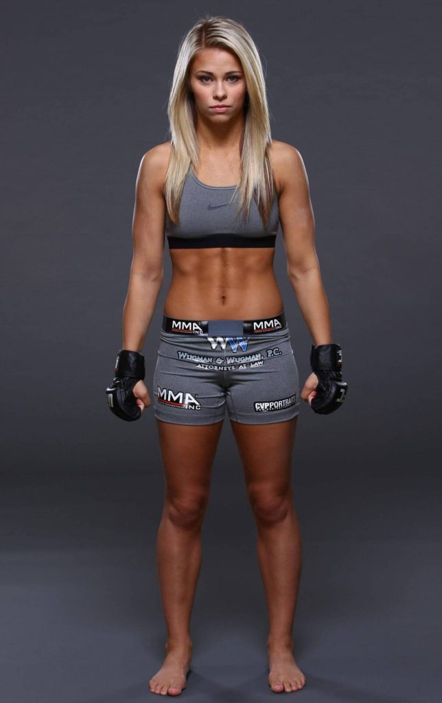Paige VanZant Pictures In Short Cloths