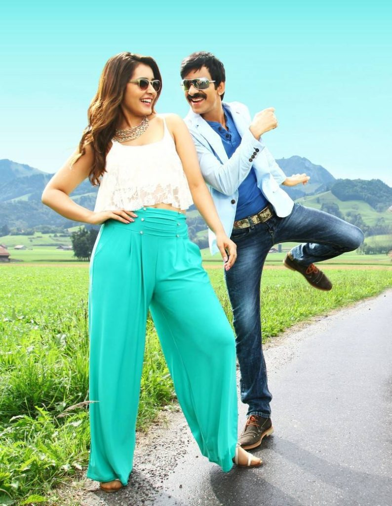 Ravi Teja Images With Lovely Girl