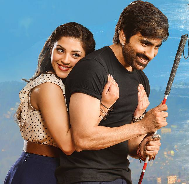 Ravi Teja Pics With Cute Girl