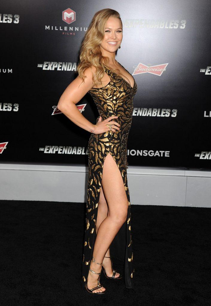Ronda Rousey Hot Legs Photos
