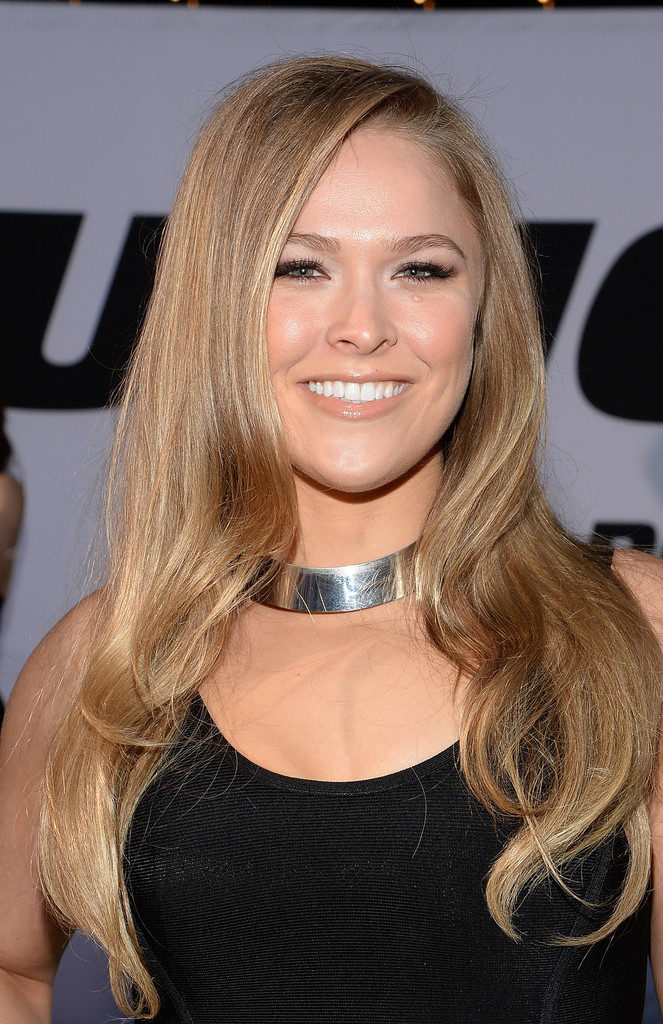Ronda Rousey New Hair Style Images