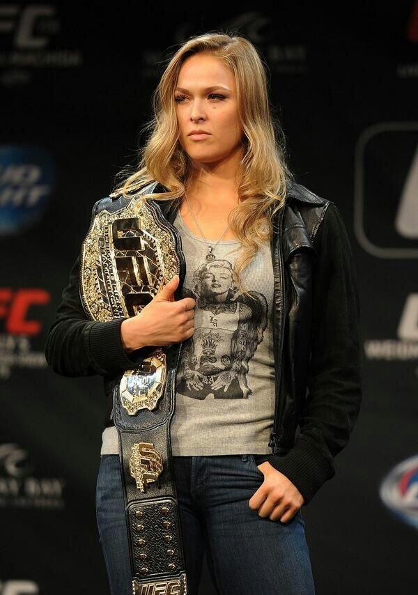 Ronda Rousey New & Nice Look Photos