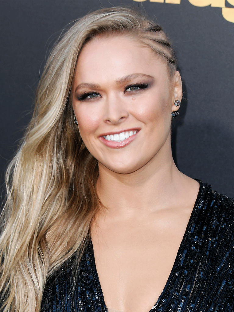 Ronda Rousey Sweet Smile Wallpapers
