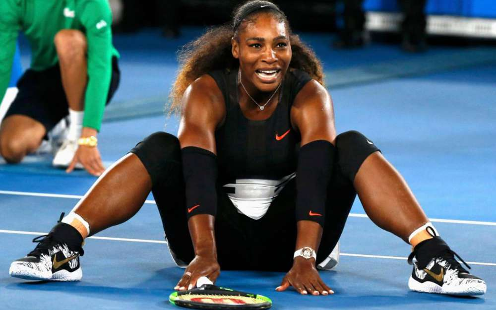 Serena Williams Angry Look Pictures