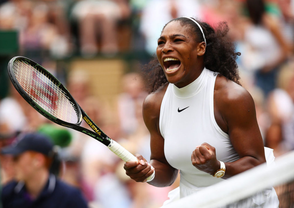 Serena Williams Angry Looking Pics