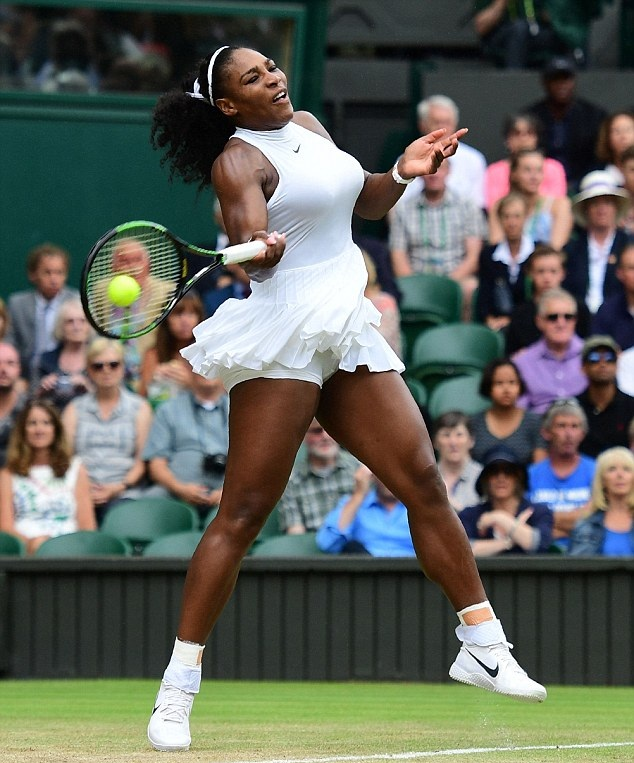 Serena Williams Hot Look In Panty Pictures