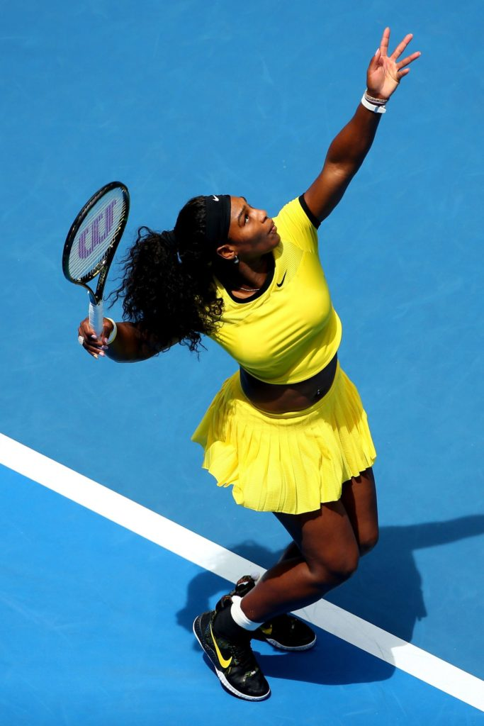 Serena Williams In Ground Pictures
