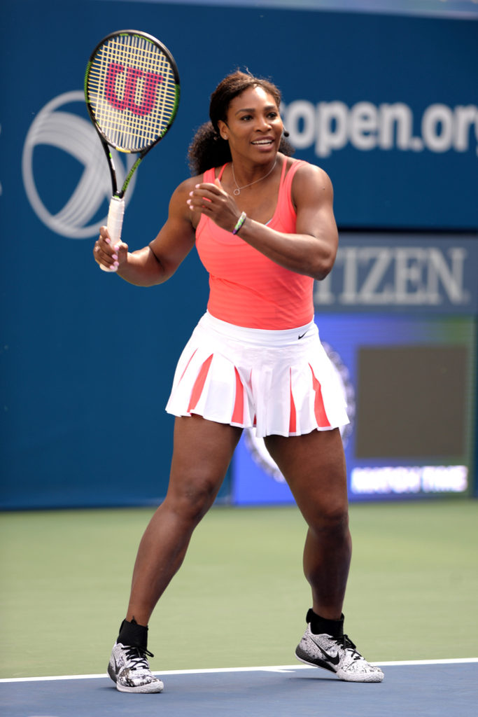 Serena Williams In Short Clothes