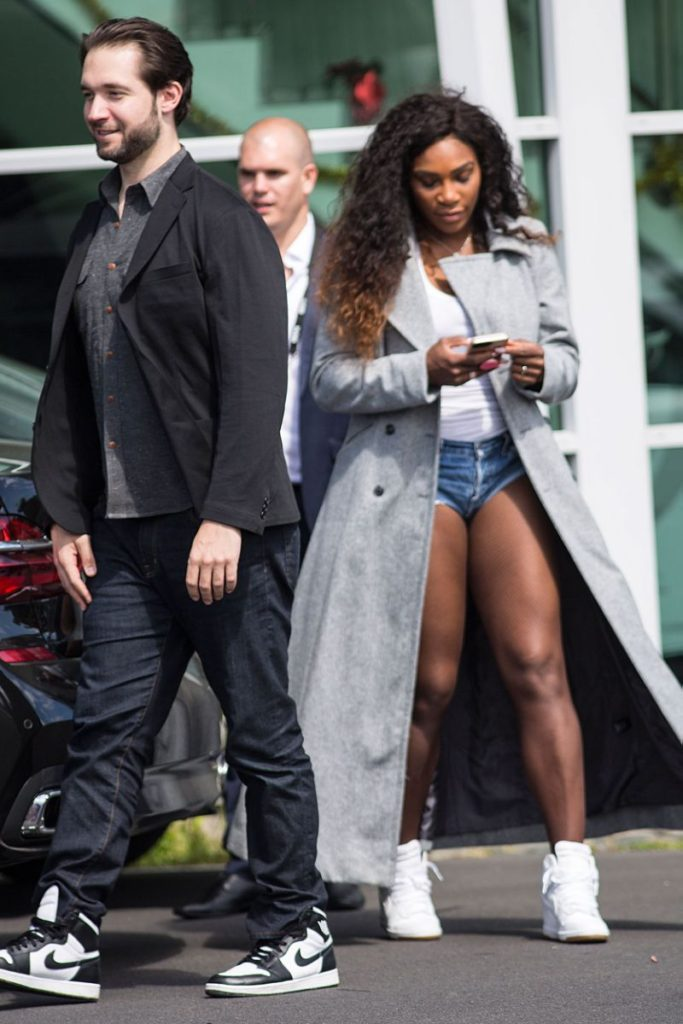 Serena Williams With His Husband Images