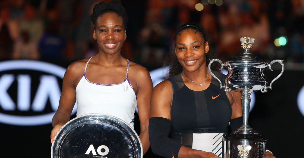 Serena Williams With His Sister Venus Williams Pictures