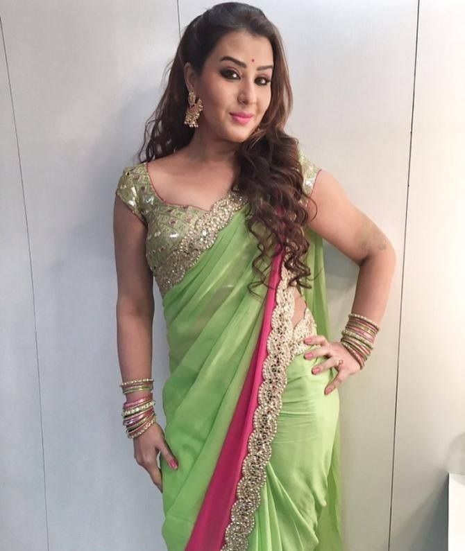 Shilpa Shinde Images In Saree