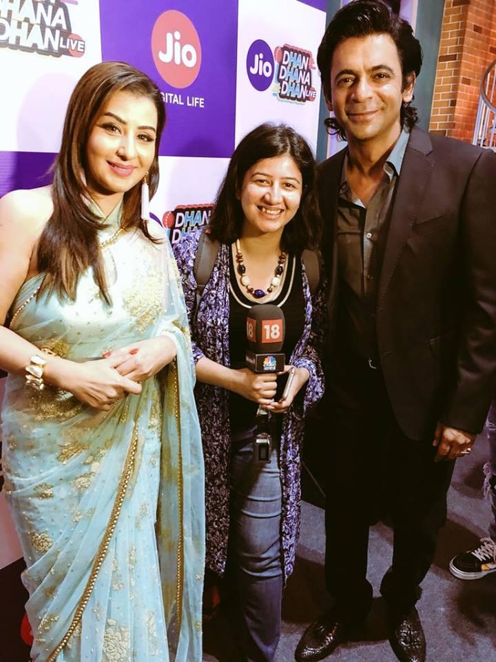 Shilpa Shinde Pics With Sunil Grover