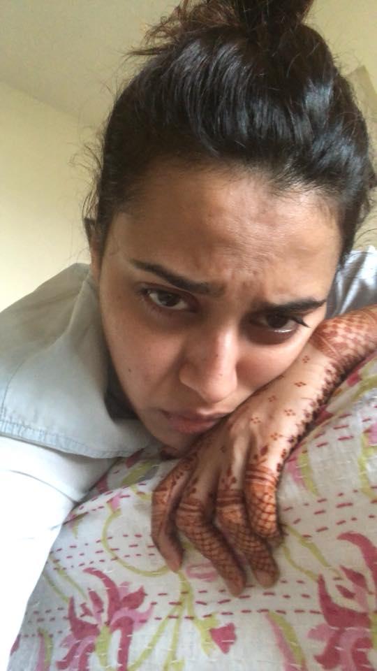 Swara Bhaskar Cute Salfie HD Pics