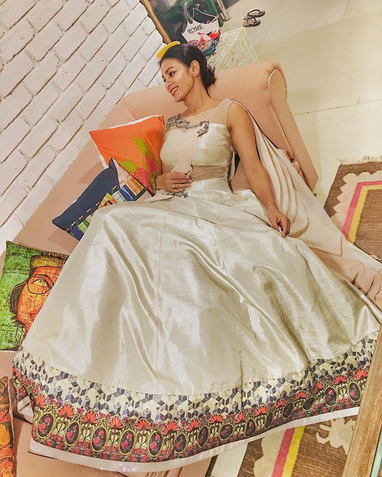 Barkha Bisht New Pics In Gown