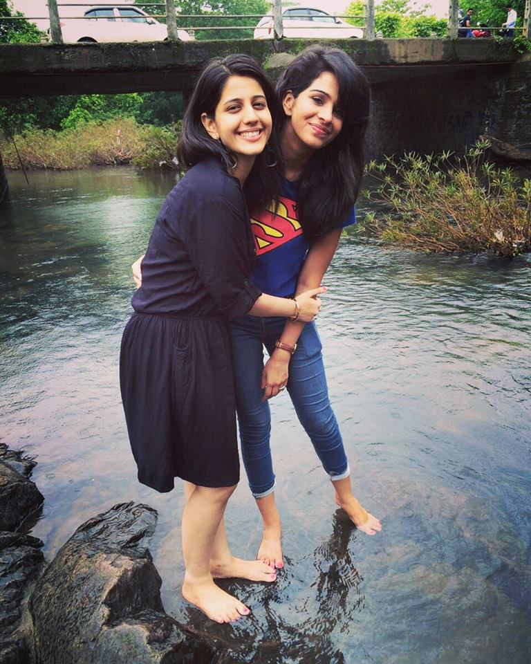 Fenil Umrigar Sexy Wallpapers With Friend