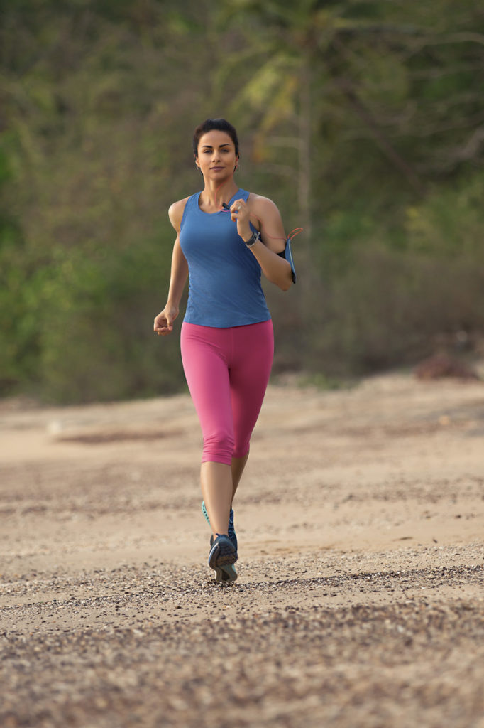Gul Panag Hot Pics In Gym Clothes