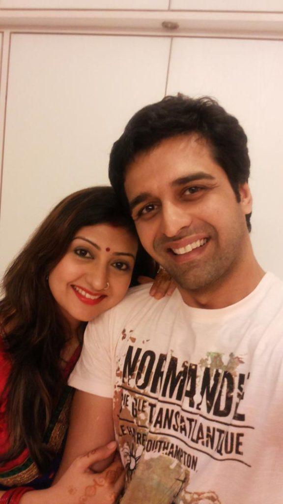 Juhi Parmar New Pics With Husband