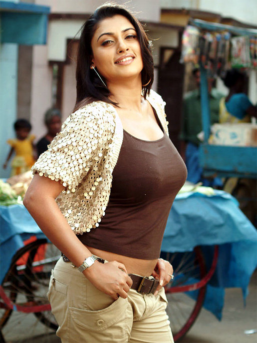Malavika Hot & Sexy Images In Jeans Top