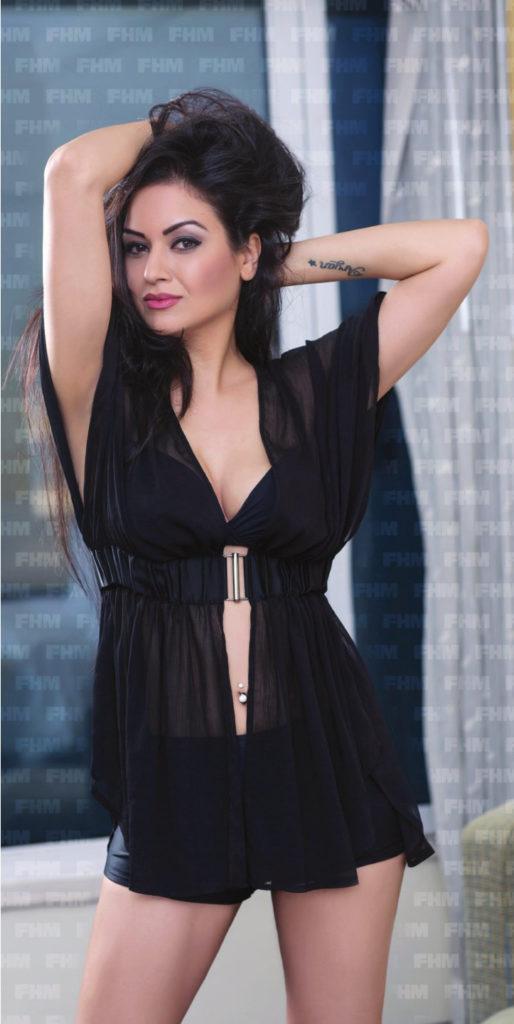 Maryam Zakaria Sexy Thigh Pics