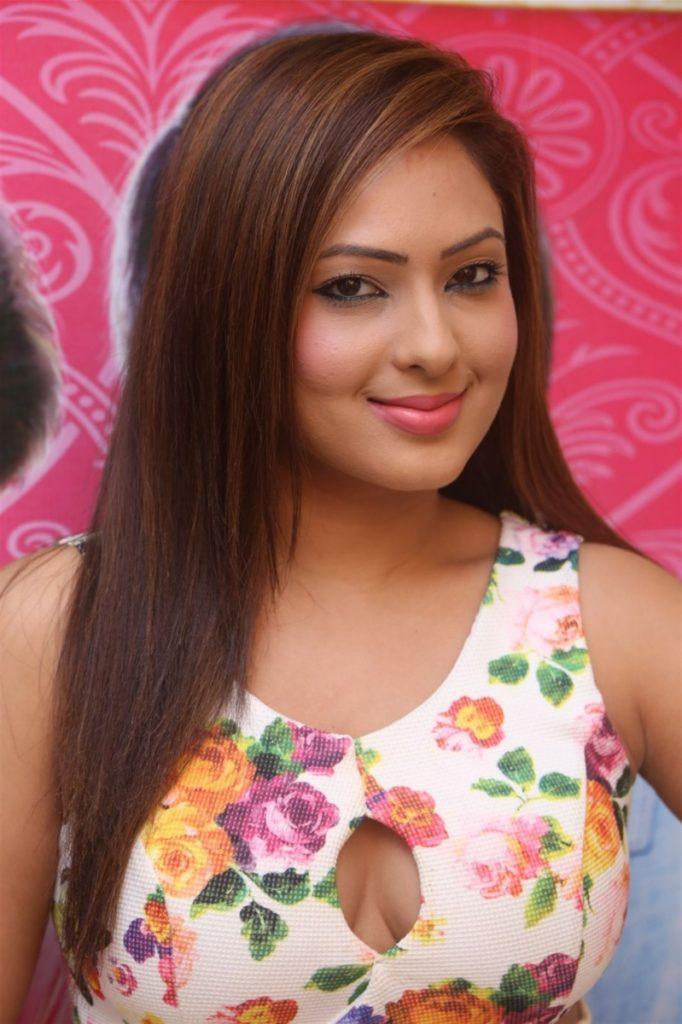 Nikesha Patel Cute Smiling Images