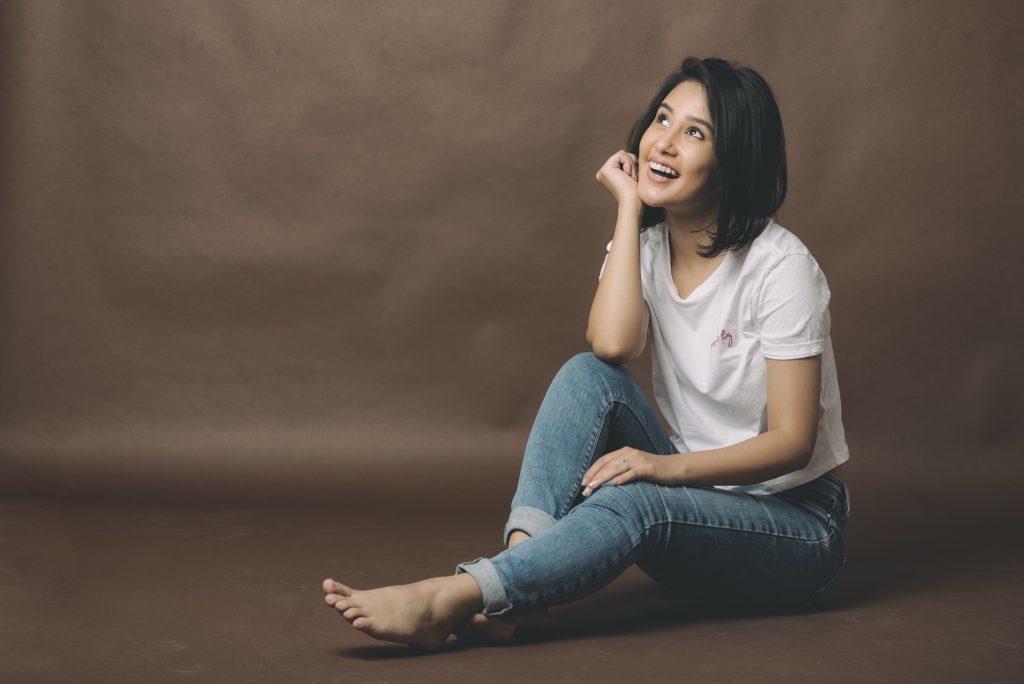 Sasha Chettri Hot Images In Jeans Top