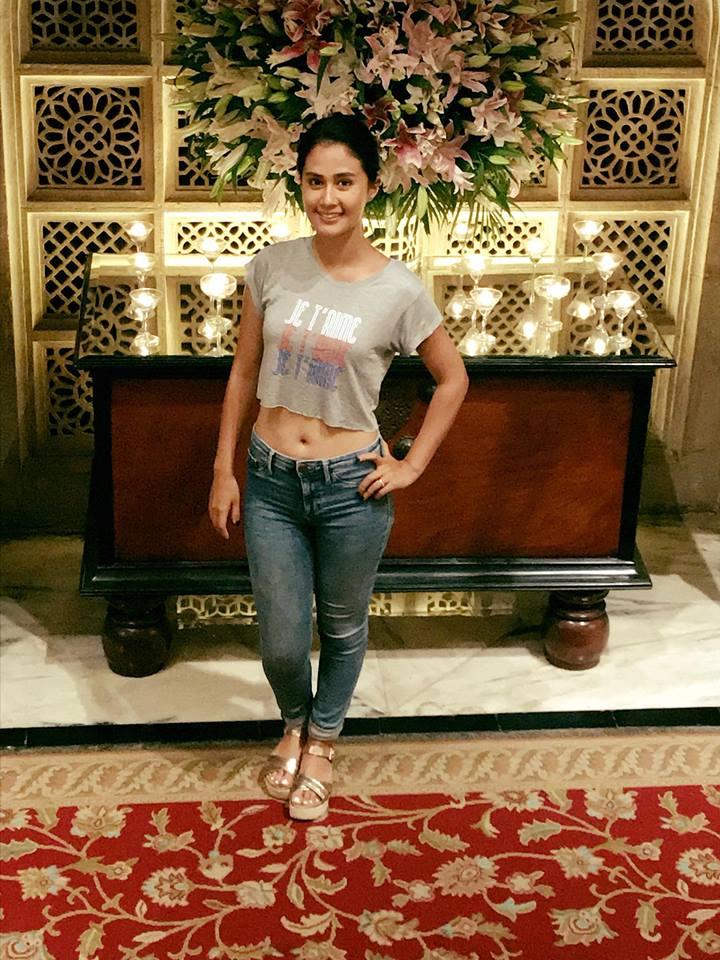 Sasha Chettri Hot Pics Jeans Top