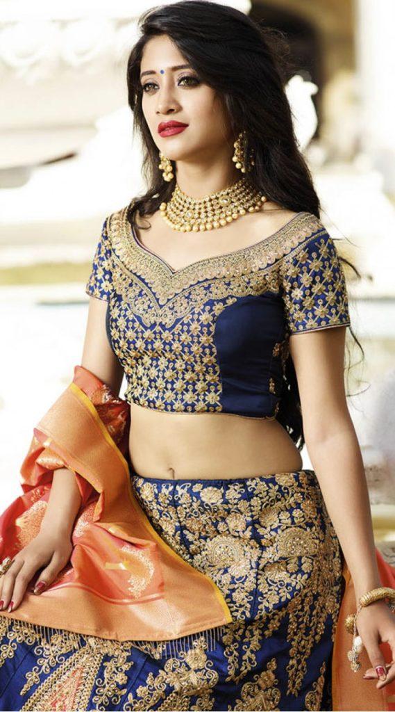 Shivangi Joshi Spicy Navel Photoshoot