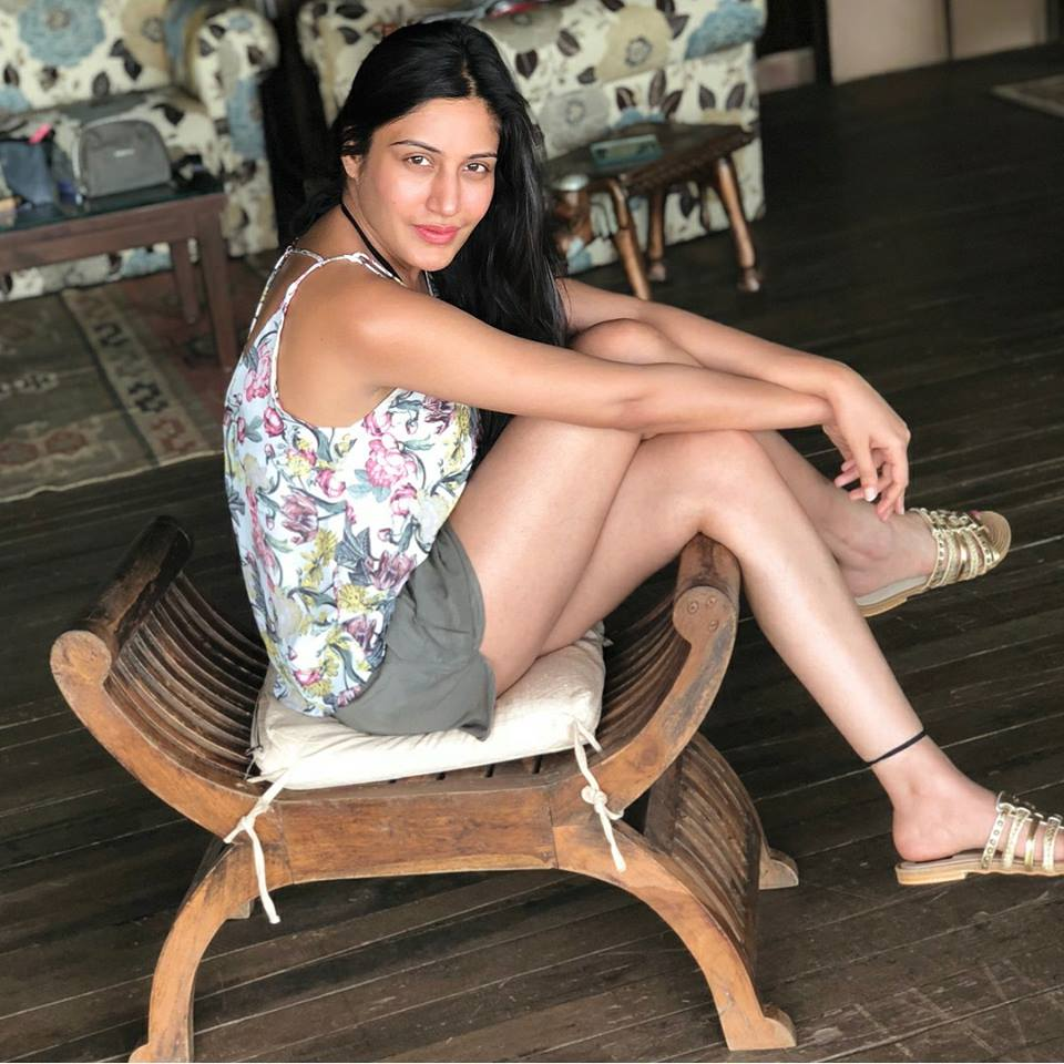 Surbhi Chandna Sexy Thigh Pics In Undergarments
