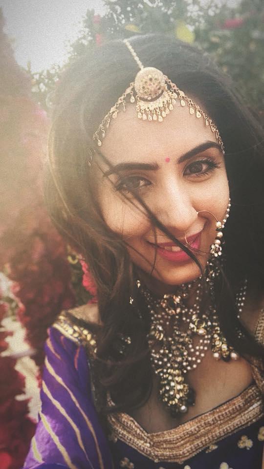 Swati Kapoor Images In Indian Look