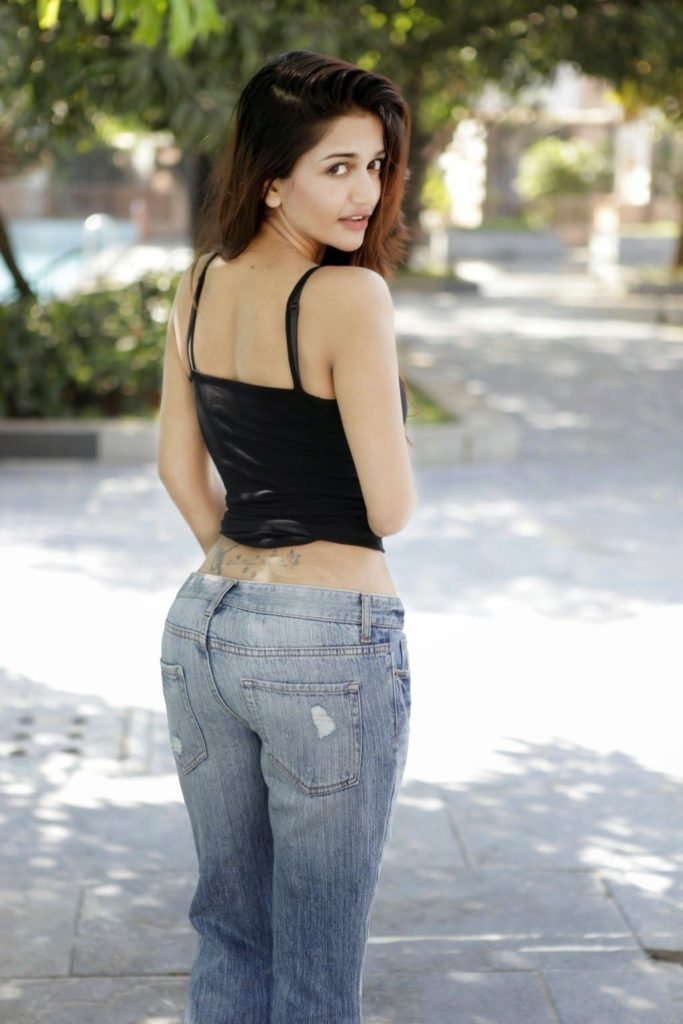Anaika Soti Hot Images In Jeans Top