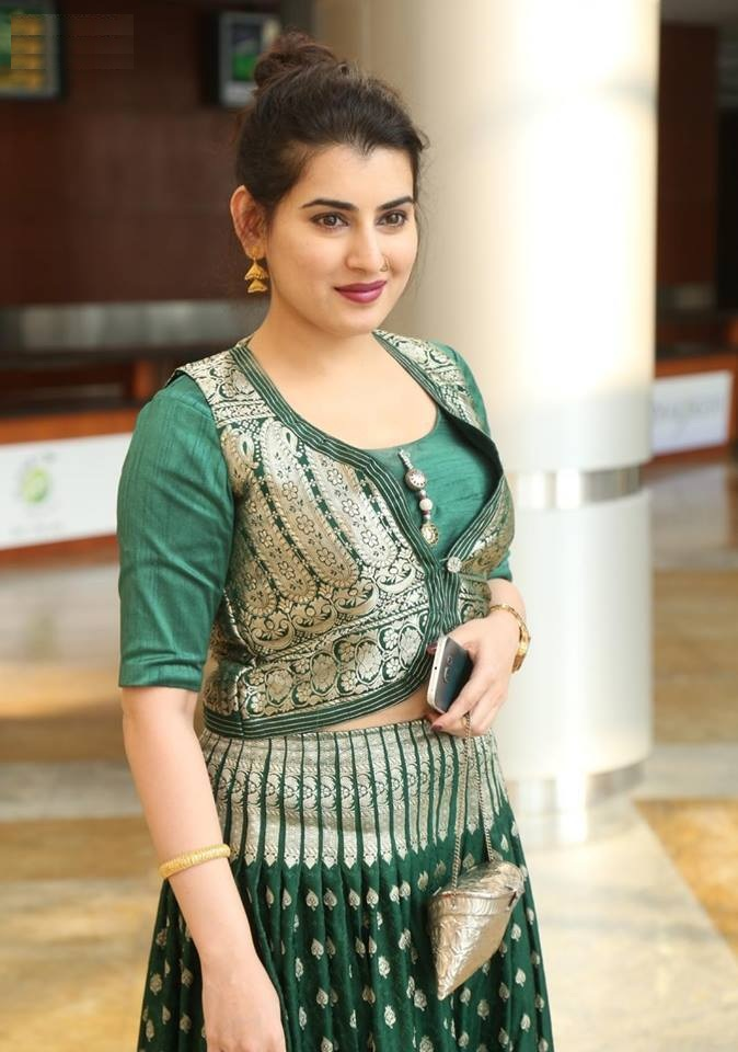 Archana New Hair Style Images