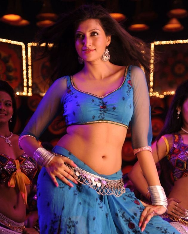Hamsa Nandini Hot & Sexy Images In Gagra Choli