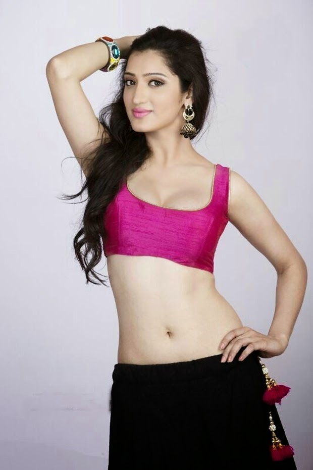 Richa Panai Spicy Navel Images In Bra