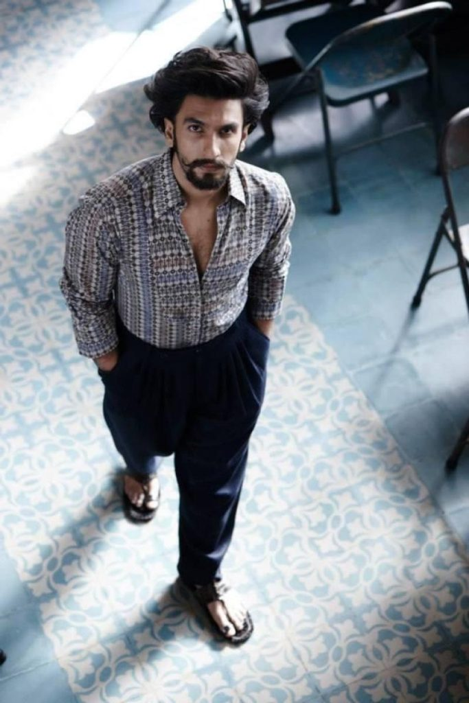 Indian Actor Ranveer Singh Latest HD Photoshoot 2016