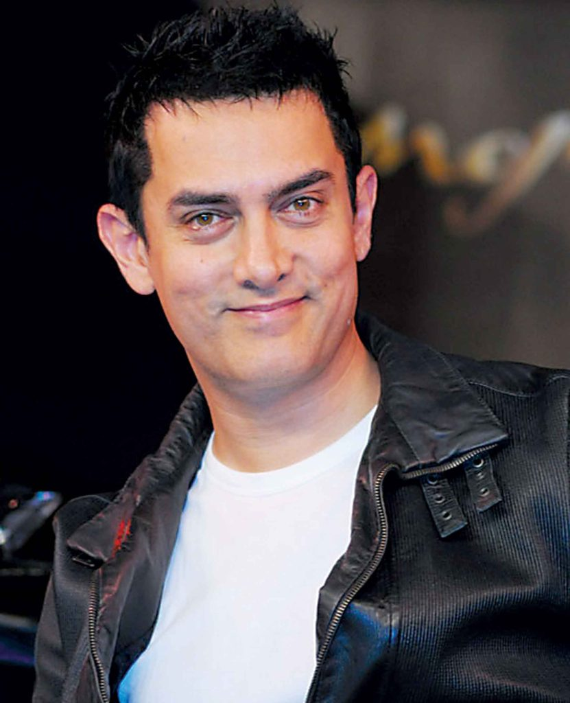 Aamir Khan Latest Hair Style Pictures Pics