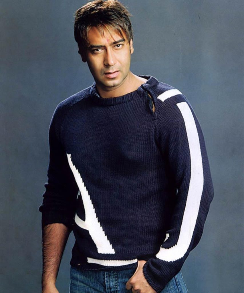 Ajay Devgan Beautiful Smile Pics Wallpapers