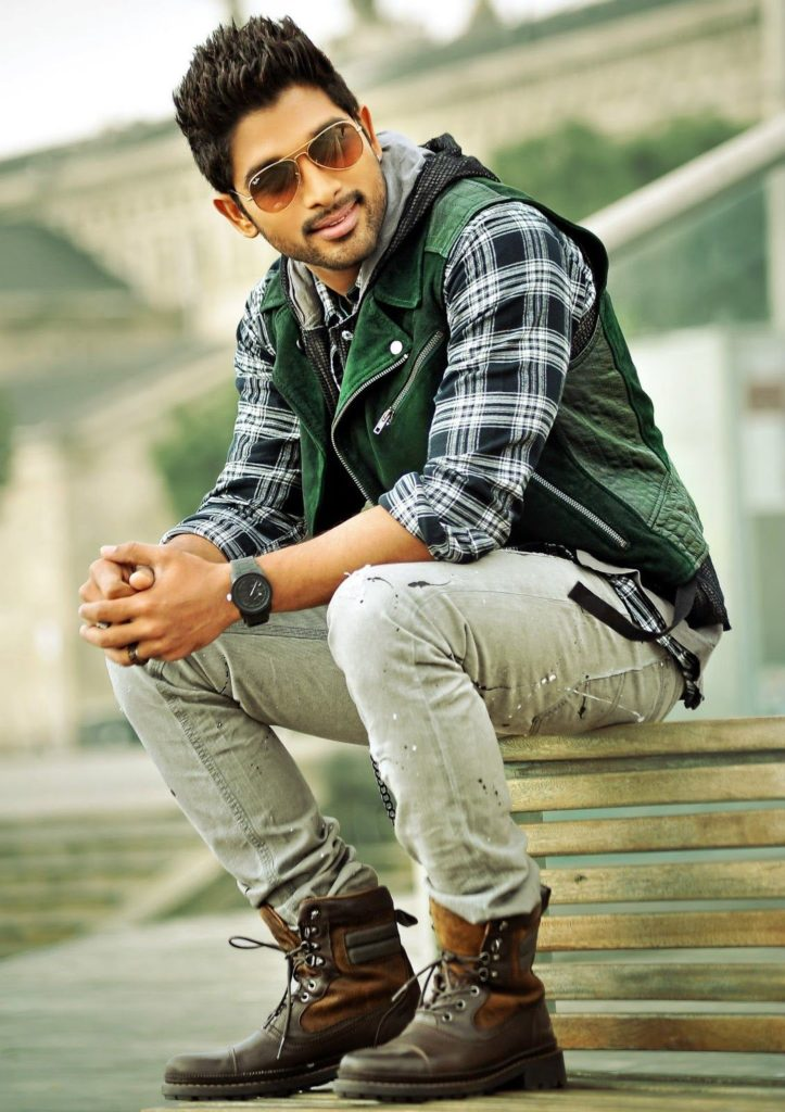 Allu Arjun Latest Hair Style Wallpapers Download
