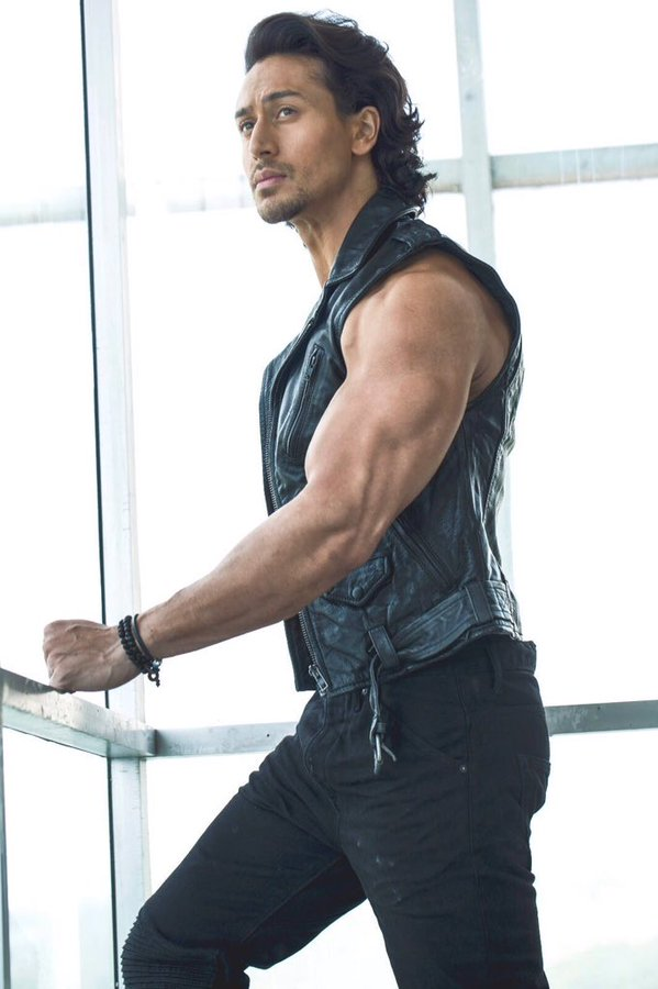 Indian Actor Tiger Shroff Latest Hot HD Photoshoot Pics
