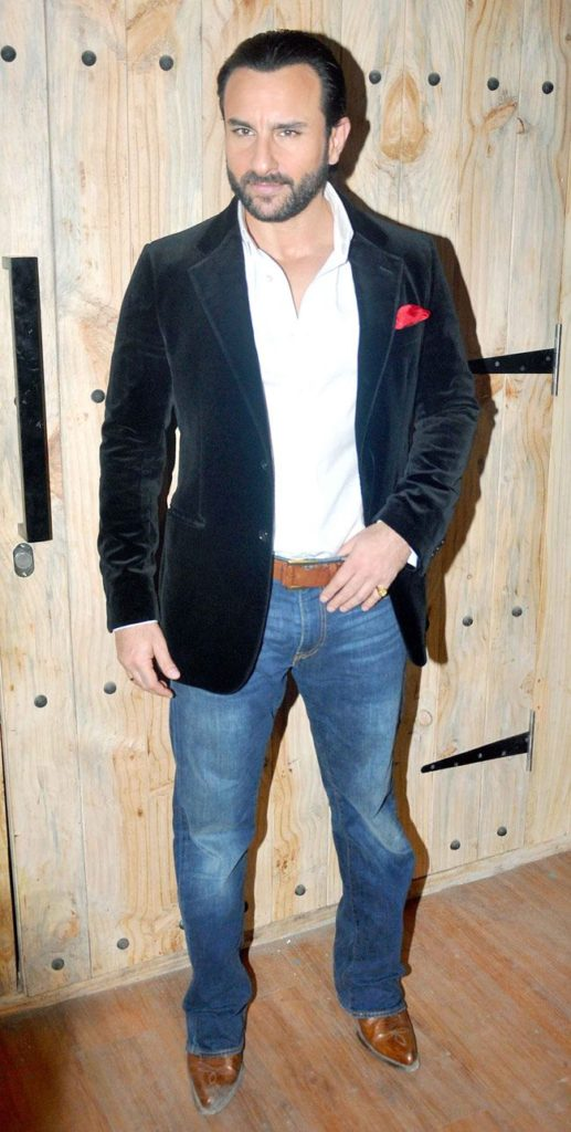 Saif Ali Khan Latest HD Photos In Blejar
