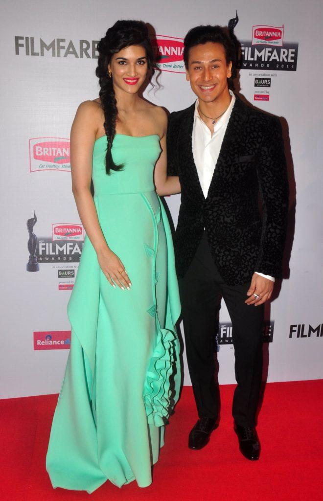 Tiger Shroff With Kriti Sanon Photos