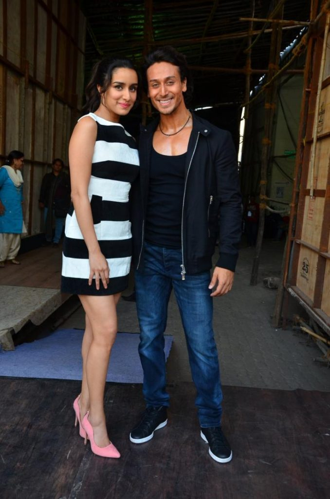 Tiger Shroff With Shraddha  Kapoor Photos  Download