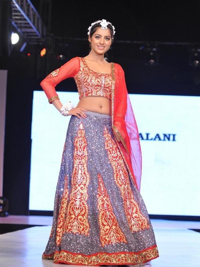 Deepika Singh Look In Gagra Choli