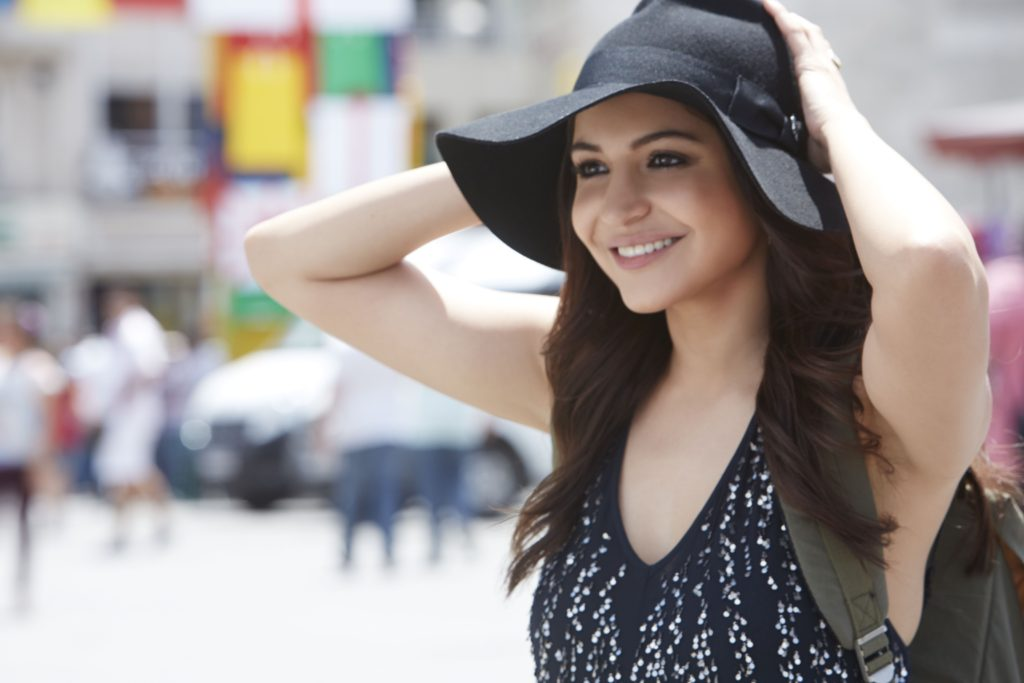 Anushka Sharma Cute Photo With Hat
