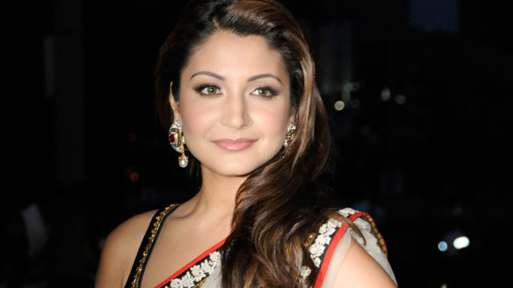 Anushka Sharma Hot Look In Saree